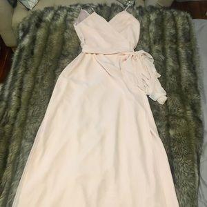 Joanna August Mandy Long Wrap Dress - SMALL